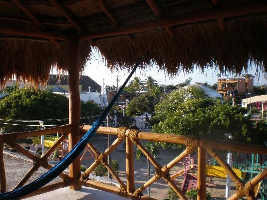 Hotel Casa Lupita: Our Deck