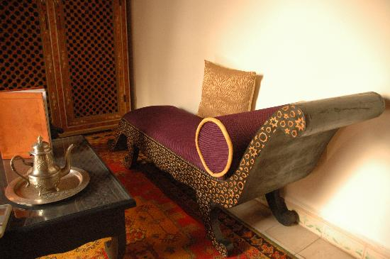 Riad Maison Belbaraka: Chair
