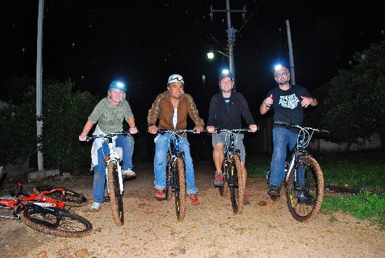 MexiGo Tours : biking to the cave