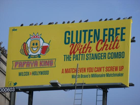 Papaya King: The billboard that caught our eye