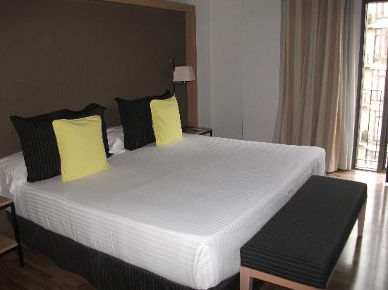 Lovely large comfy bed