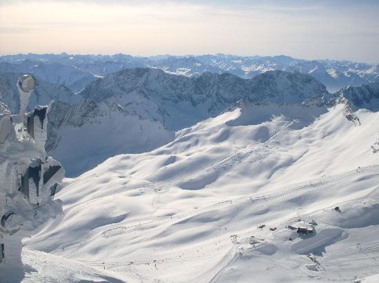 Alpenperle: Zugspitzgletscher