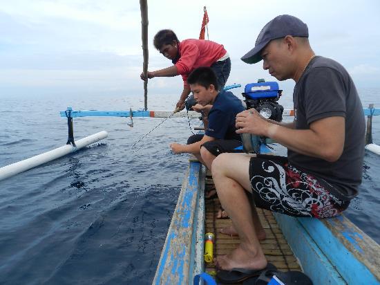 Cili Emas Oceanside Resort: Fisgou