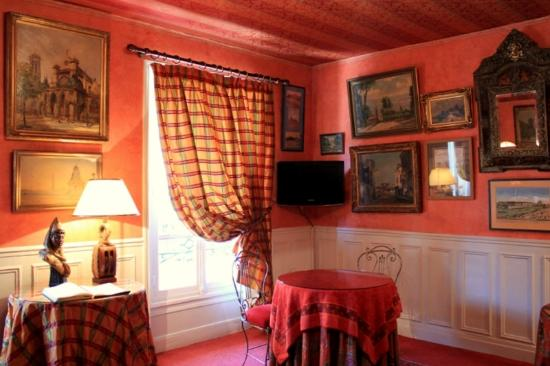 Hotel de Nice: brekfast room