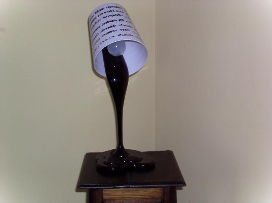 Vicoforte, Italia: Ciocco-lampada