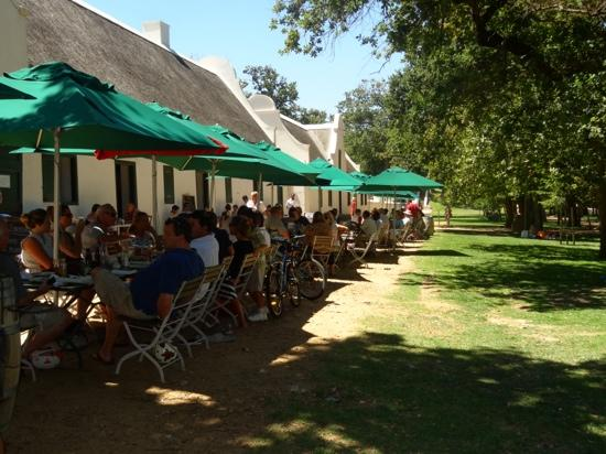 Jonkershuis Restaurant at Groot Constantia: lunch with a view