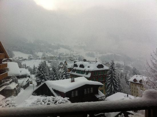 Alpenruhe Kulm Hotel: Rm 33 balcony view