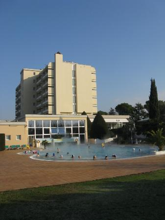 Hotel Des Bains Terme: Piscina esterna