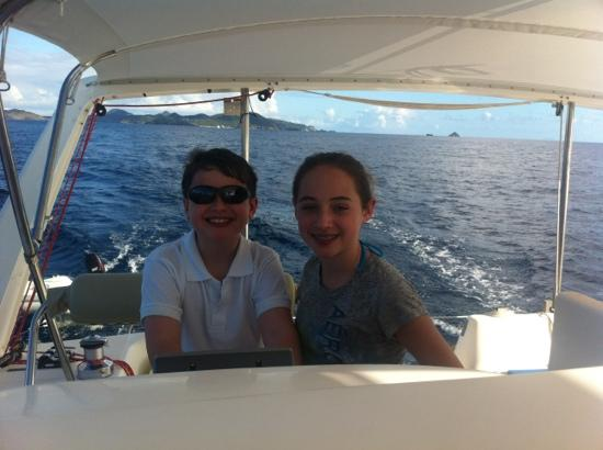 Private Yacht Charter SXM: Great day on the water!