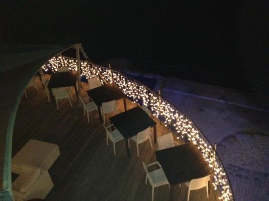Marina di Bardi: vista dalla terrazza
