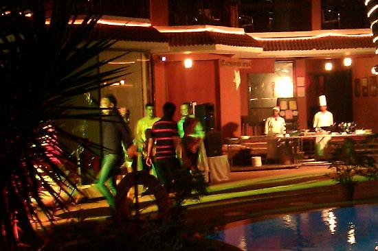 The Baga Marina Beach Resort & Hotel: New Year's Eve