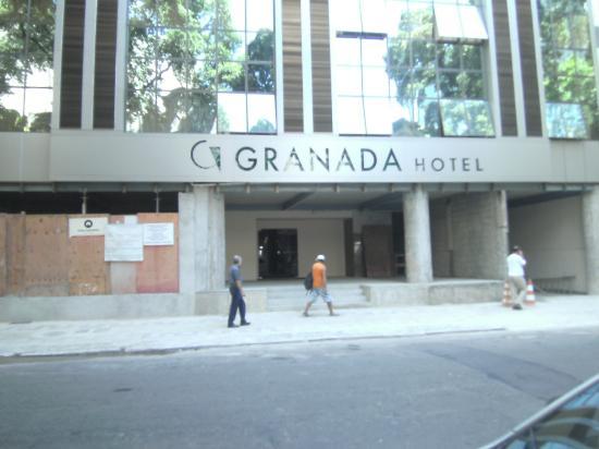 Hotel Granada: Current Entrance (Feb 2012)