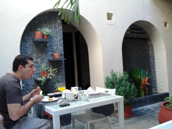 La Casa del Farol Hotel Boutique : Casa del Farol Breakfast 1