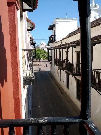 La Casa del Farol Hotel Boutique: View From Casa del Farol Room 1