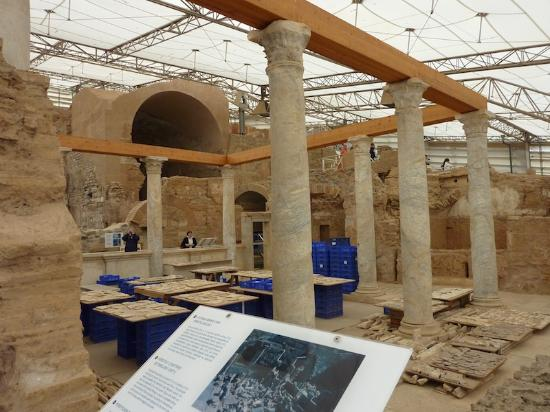 """Ancient City of Ephesus: Inside """"The Shed"""""""