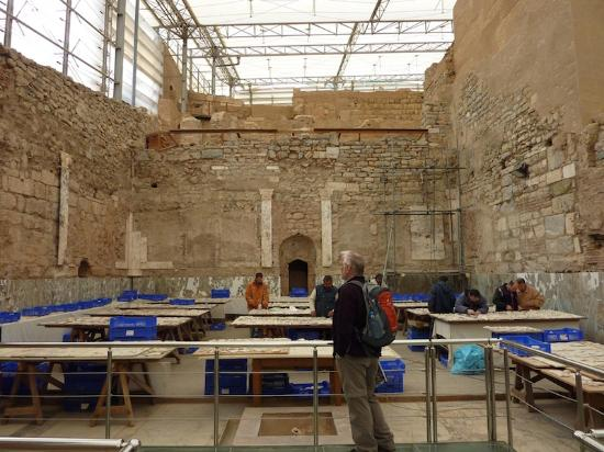 """Ancient City of Ephesus: Inside """"The Shed"""" - Archeologists At Work"""