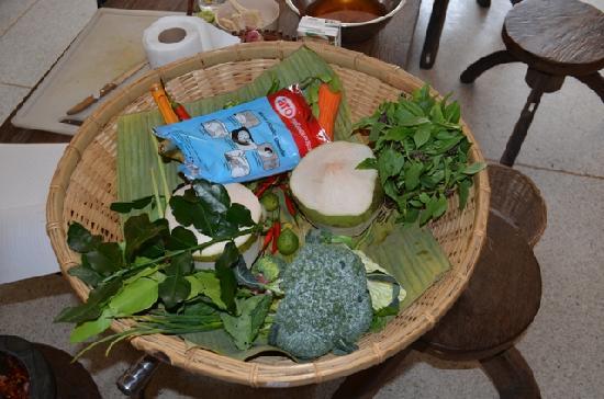 Arun@Samui : Our Fresh Ingredients
