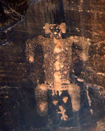 Rock Art Canyon Ranch: Possible birthing scane