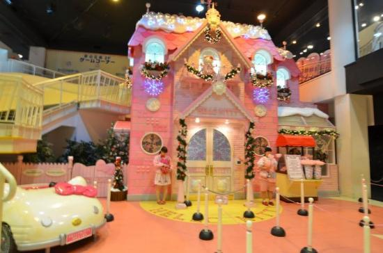 Hello Kitty House hello kitty's house - picture of sanrio puroland, tama - tripadvisor