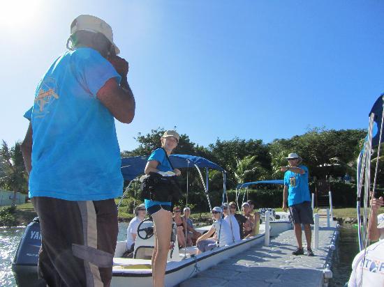 Paddles Snorkel and Kayak Eco Adventure: the team