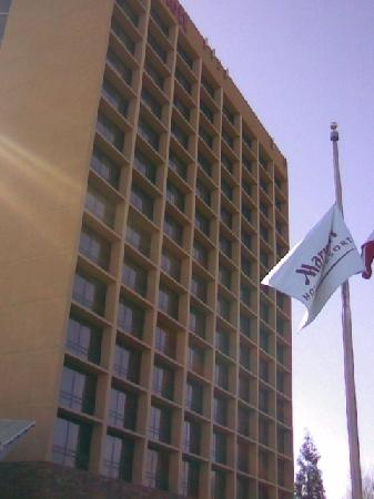 Atlanta Marriott Century Center/Emory Area : Exterior of buildng