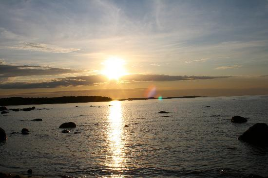 Penetanguishene, Kanada: Beautiful sunset at the beach