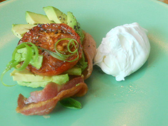 Great Ponsonby Arthotel: Avocado  breakfast