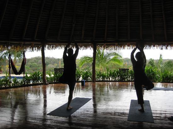 Costa Rica Yoga Spa: Doin' our Moves