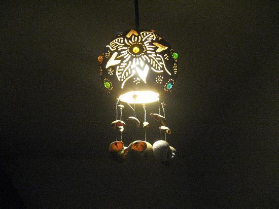 Lo Nuestro Petite Hotel: gourd lamp