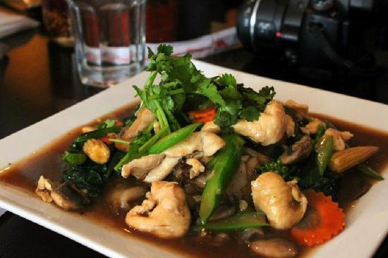horfun (flat rice noodle) - Picture of Saigon Kitchen, Ithaca ...