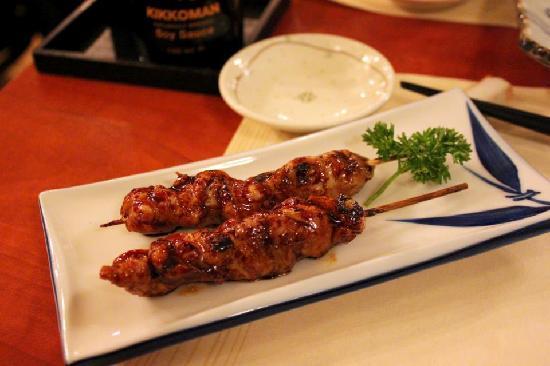 Fujiwara : chicken yakitori
