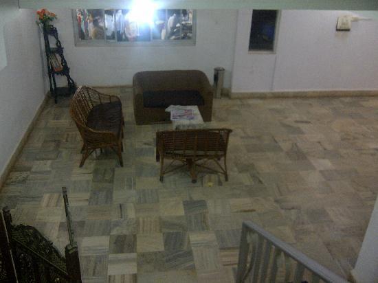Vincy Beach Resort: the lobby