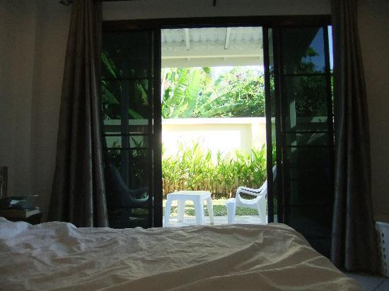 Phuket Riviera Villas: Private Garden off bedroom - LOVELY!