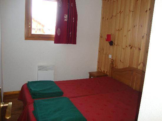 Residence Le Parc Aux Etoiles : Chambre 2 lits simples
