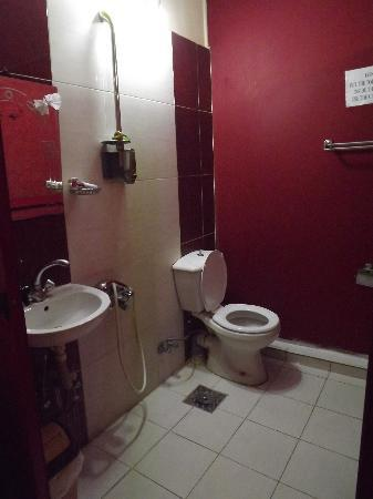 Mandarin Hostel: The Bathroom