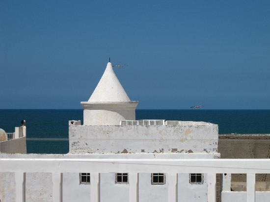 Riad de la Mer : terrace view