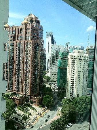 Traders Hotel, Kuala Lumpur: views from hotel room
