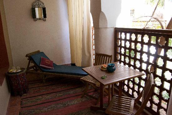 Riad Tafilag : Terraza habitación