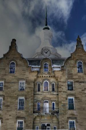 Trans-Allegheny Lunatic Asylum: clock tower