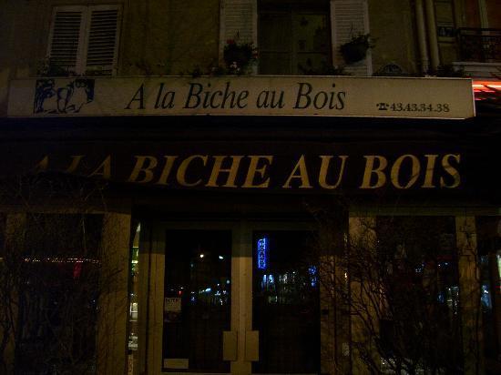 The front picture of a la biche au bois paris tripadvisor - La biche aux bois yerres ...