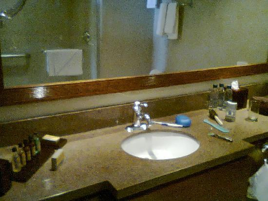 Venezuela Marriott Hotel Playa Grande : baño