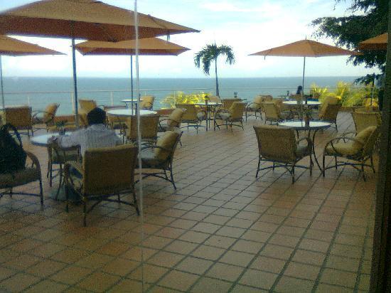 Venezuela Marriott Hotel Playa Grande: terraza