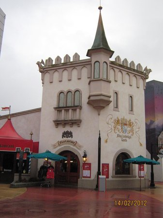 King Ludwig's Castle: The castle