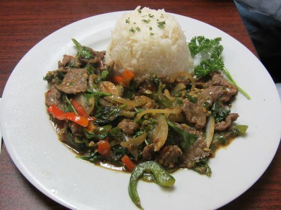 ThaiBox: Spicy Beef Basil