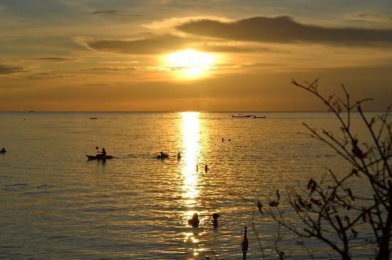 Ko Pha Ngan, Thailand: tramonto