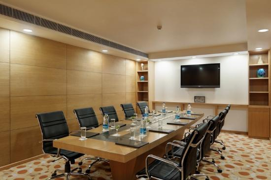 Ramada Gurgaon Central: board room where we met