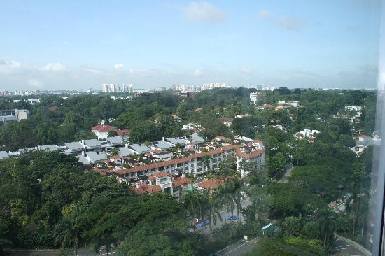 Shangri-La Hotel, Singapore: Singapore view from Shangri-La