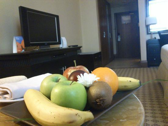 Sheraton Khalidiya Hotel: Gratis frisches Obst