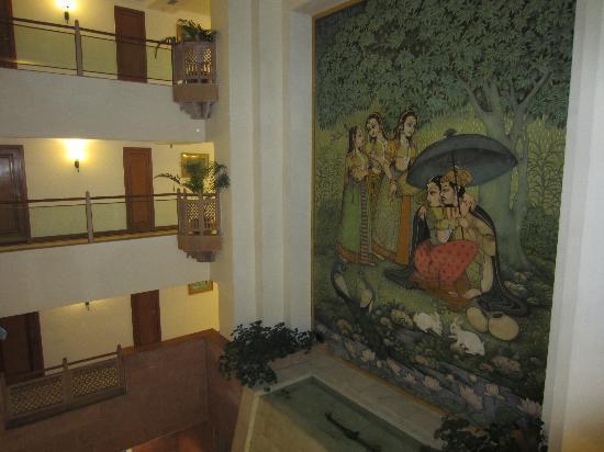 Mansingh Towers: Mural
