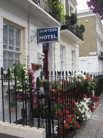 Surtees Hotel : L'esterno